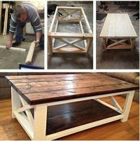 Best 25+ Homemade coffee tables ideas on Pinterest