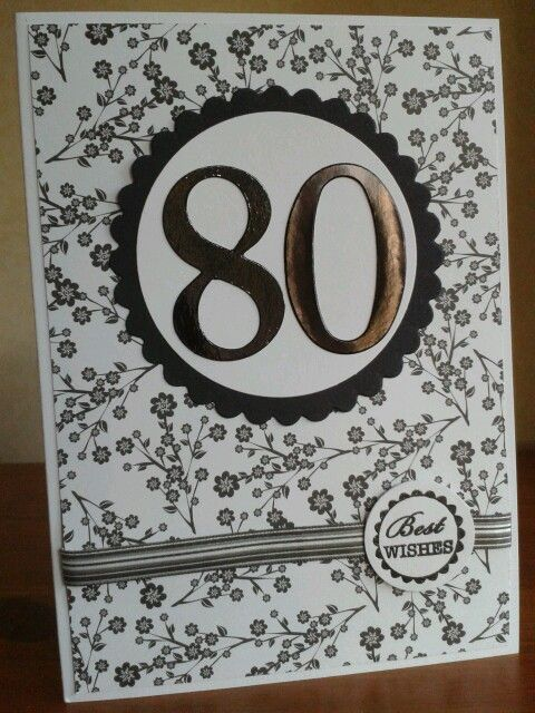 Best 25 80th Birthday Cards Ideas On Pinterest Cards