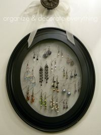 1000+ ideas about Organizing Earrings on Pinterest