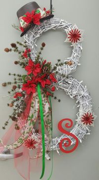 Best 25+ Snowman wreath ideas on Pinterest | Diy door ...
