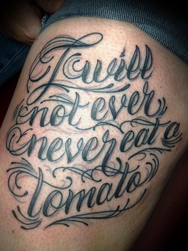 #script #tattoo #cursive #lettering