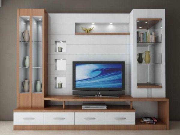 showcase designs living room wall mounted sectional sofa bed contoh rak tv cantik dan modern | desain interior ...