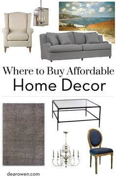 25 Best Ideas About Affordable Home Decor On Pinterest House