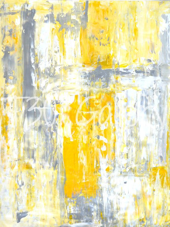 1000 Images About Grey And Yellow Art On Pinterest