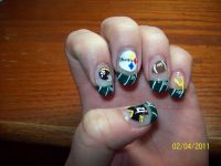 24 best images about Steelers Nail Designs on Pinterest ...