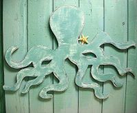 Octopus Wall Art Sign Beach House Decor   Mar   Pinterest ...