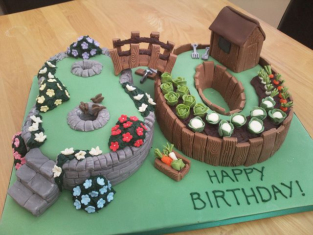 25 Best Ideas About Garden Theme Cake On Pinterest Garden