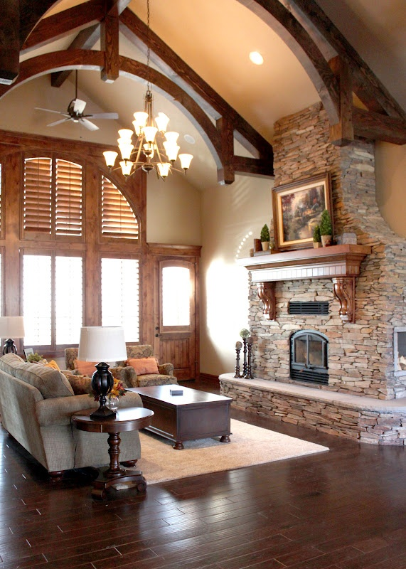 72 best images about Great Rooms with Vaulted Ceilings on Pinterest