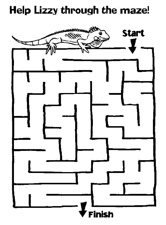 17 Best images about Kids worksheet mazes on Pinterest