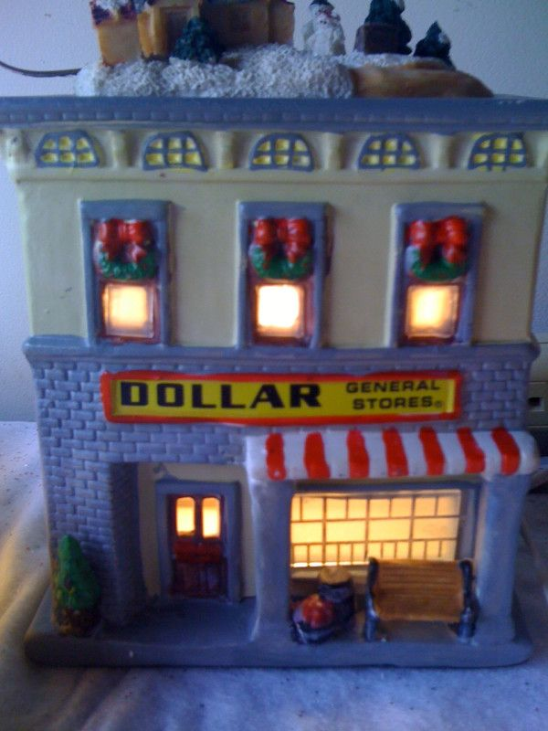 christmas village dollar general  Yes There is a Dollar