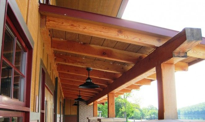 Heavy Timber Construction Kits Overhang Timber