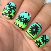 ideas tribal nails