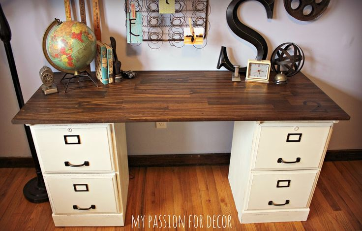 1000 ideas about Filing Cabinet Desk on Pinterest  File