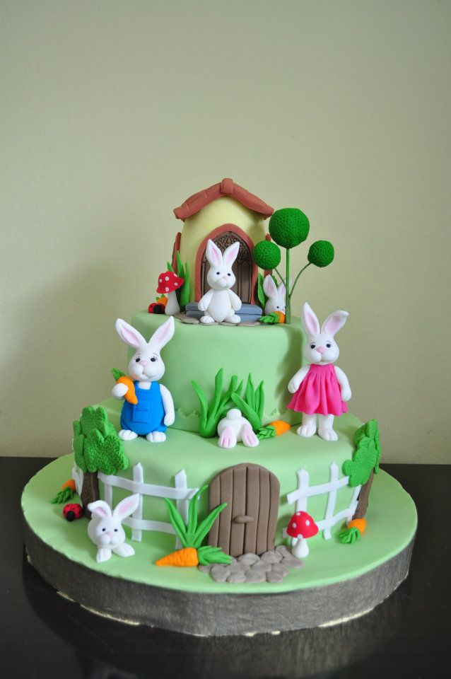Bunny Birthday Cake Ideas