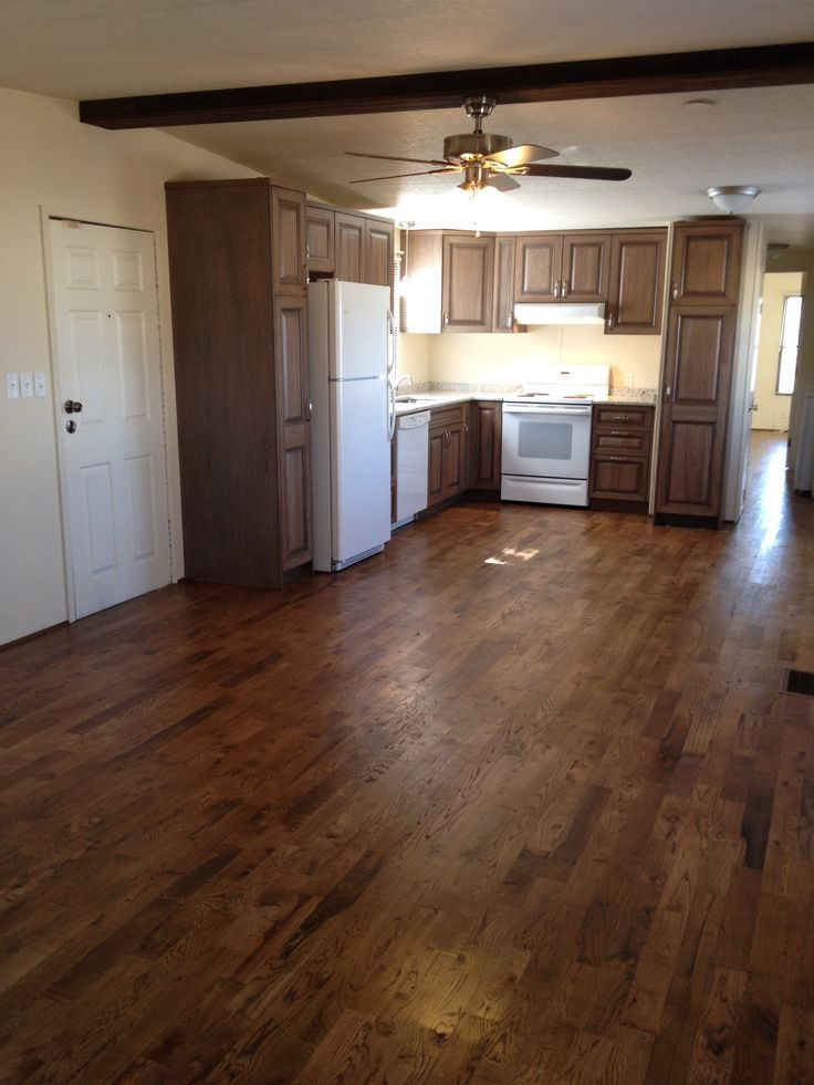 Hardwood floors in a mobile home  Make my mobile home fabulous  Pinterest  Hardwood floors