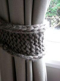 81 Best Images About Crochet Curtain Tie Backs On Pinterest