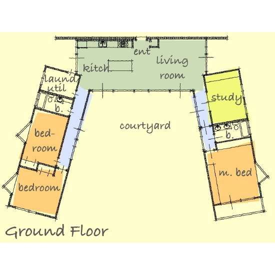 47 best images about U shaped Houses on Pinterest