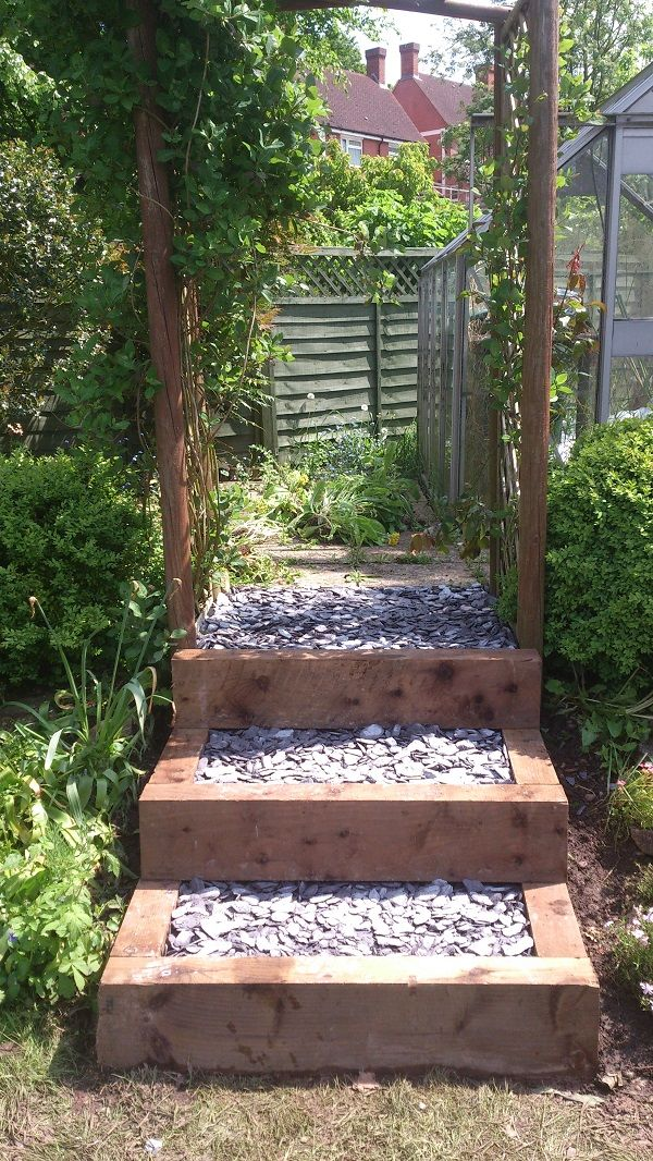 outdoor steps