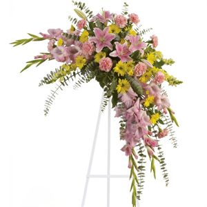 20 Best Funeral Standing Sprays Images On Pinterest