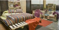Pallet bedroom set | I  pallets | Pinterest | Bedroom ...
