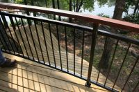 17 Best ideas about Metal Deck Railing on Pinterest
