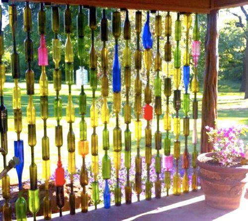 25 Best Ideas About Wine Bottle Fence On Pinterest Bottle Tiki