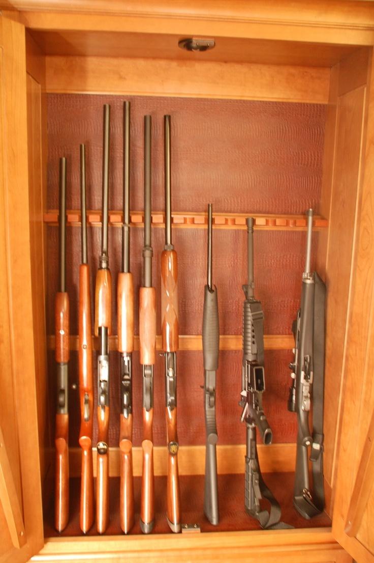 1000 Images About Diy Gun Cabinet On Pinterest