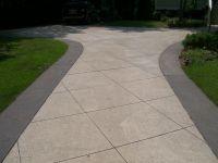 diamond cut concrete patio - Google Search | concrete ...