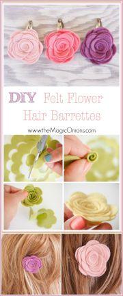hair barrettes ideas