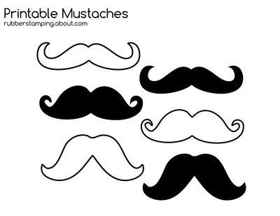 Free Printable Mustache Images For Your Craft Projects