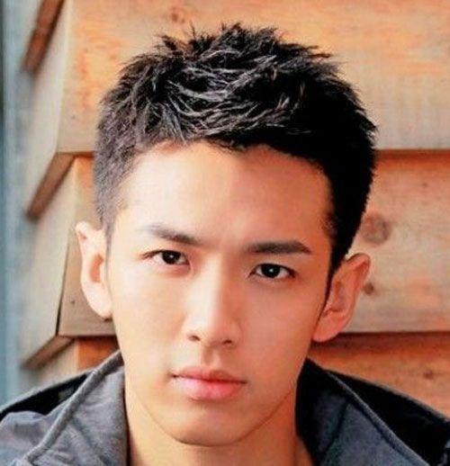 25 best ideas about Asian men hairstyles on Pinterest