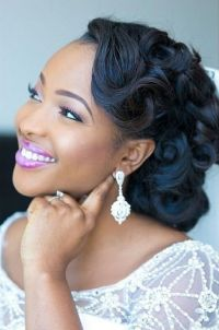 17 Best ideas about Black Wedding Hairstyles on Pinterest ...