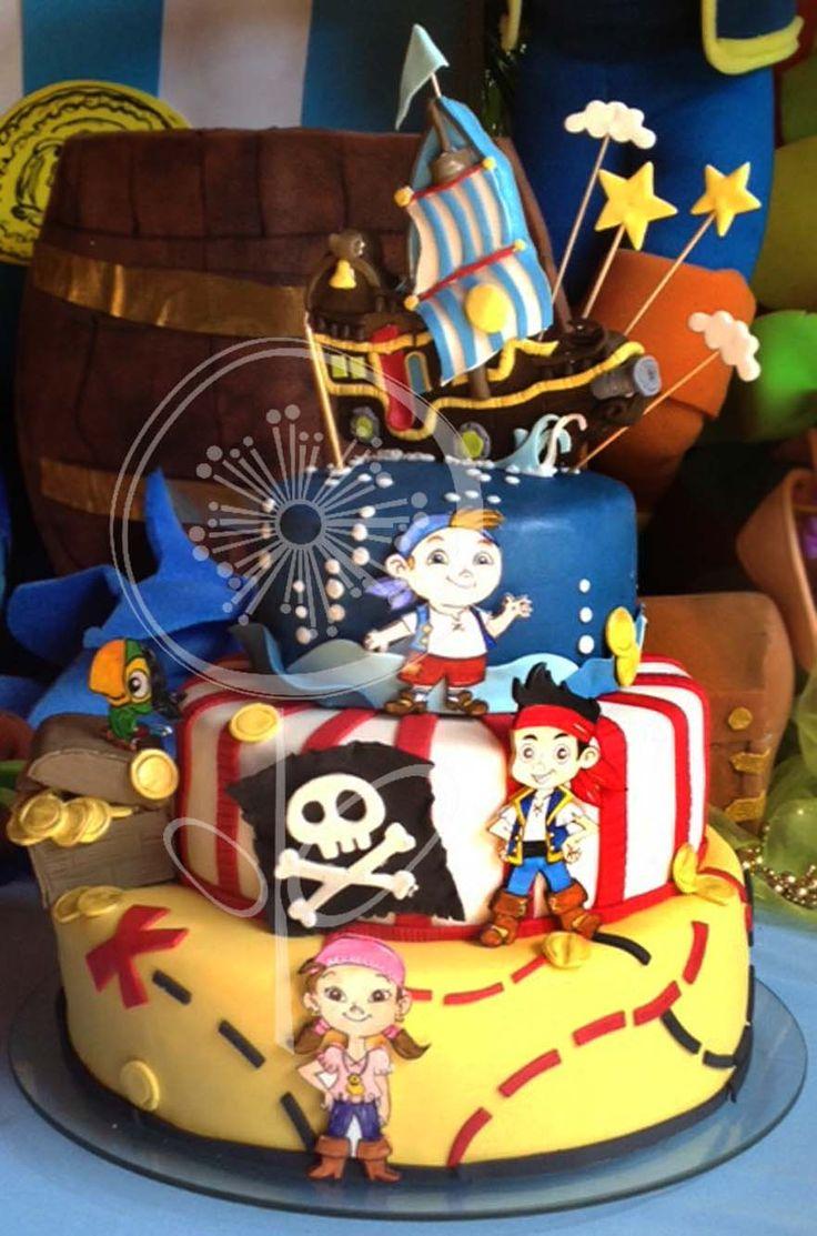 Torta De Jake Y Los Piratas Del Nunca Jam 225 S Our