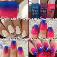 A quick and easy nail design tutorial its really pretty ...