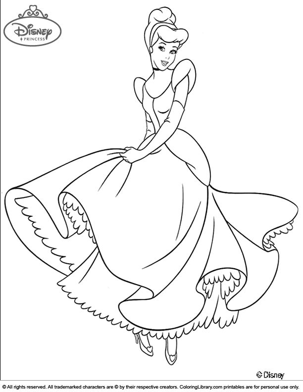 Cinderella Movie Coloring Activity And Pages