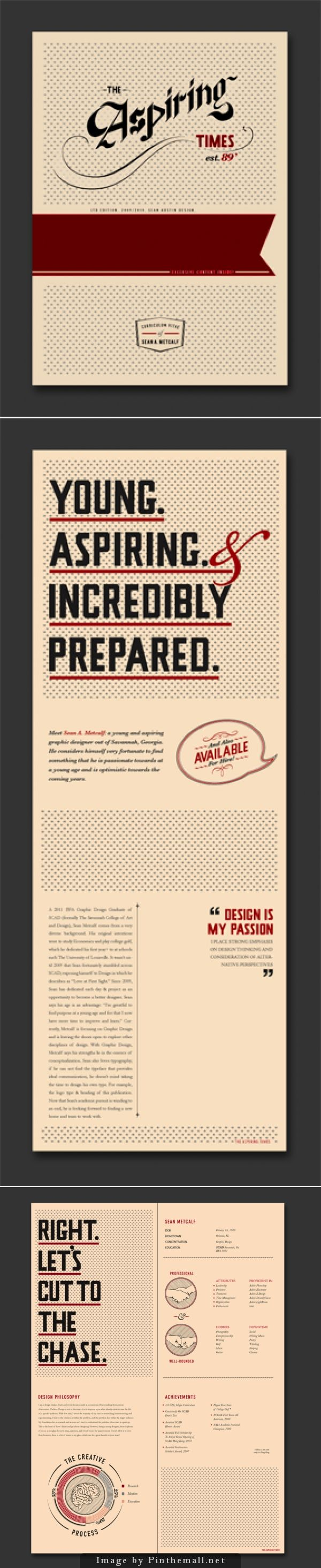 Best Images About Creative Resumes Emails And Portfolio Ideas Graphicstoll  Creative Personal Resume And Blog Template