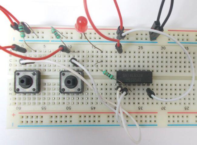 Simple Logic Gate Circuits