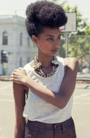 afro punk prep updo style muse