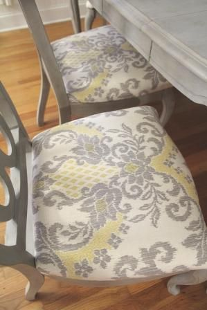 best fabric to cover kitchen chairs mid century living room 25+ ideas about dining table makeover on pinterest | redo, refurbished ...