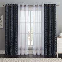 Victoria Classics 4-pc. Barcelona Double-Layer Curtain Set ...