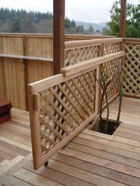 Build A Lattice Fence - WoodWorking Projects & Plans