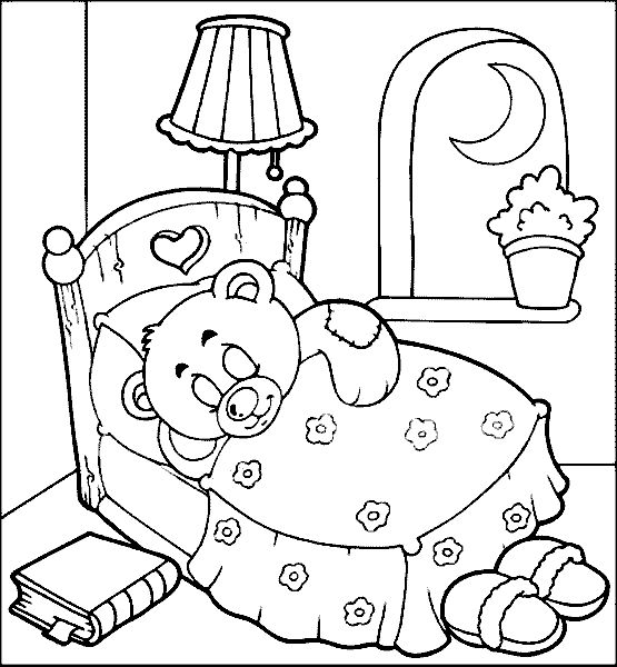 Pics Photos Sleepy Coloring Pages Sketch Coloring Page