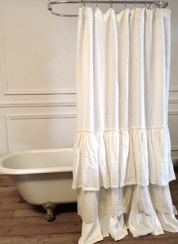 25 Best Ideas About Lace Shower Curtains On Pinterest Burlap