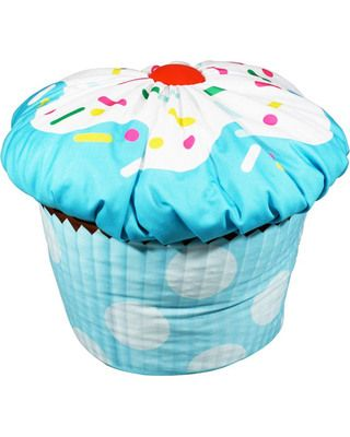 The Only Thing That Could Make This Cupcake Bean Bag Chair Better