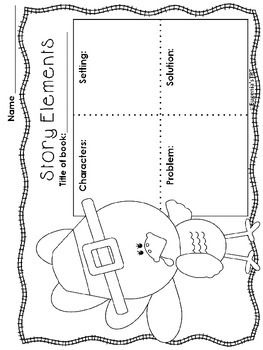 FREEBIE SAMPLE OF THANKSGIVING THEMED GRAPHIC ORGANIZERS
