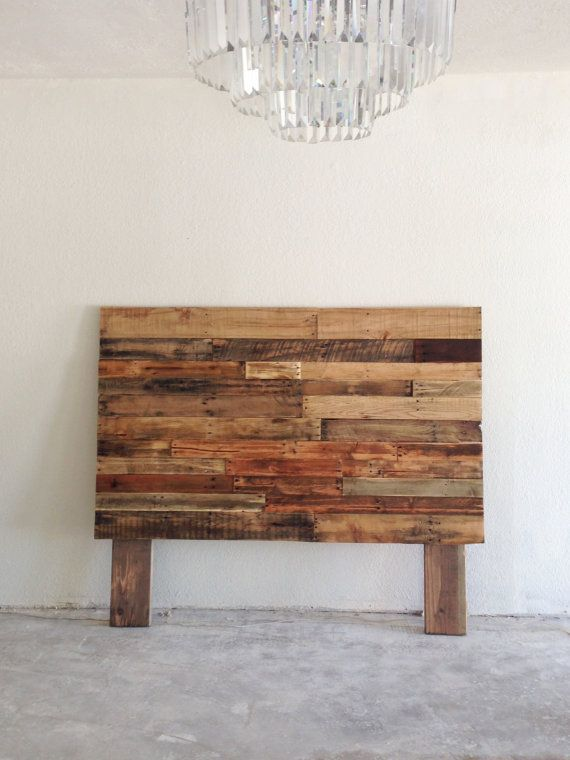 1000 ideas about Painted Wood Headboard on Pinterest  Wood Headboard Furniture Redo and