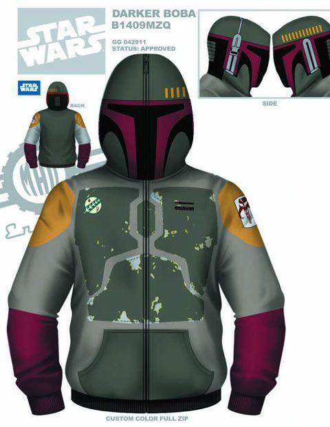 des sweats a capuche star wars dark vador storm trooper