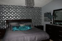 17 Best images about Teal Silver Bedroom on Pinterest ...