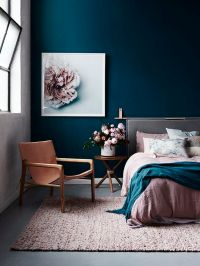 17 Best ideas about Dark Blue Bedrooms on Pinterest | Blue ...