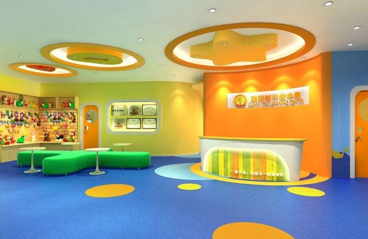 Chinese Kindergarten Interior Design
